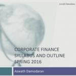 Корпоративные финансы – учебный курс от Асвата Дармодарана
